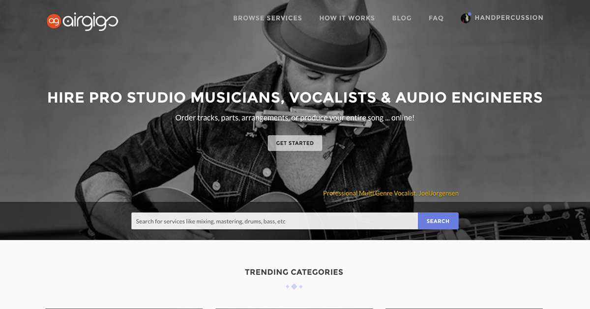 Hire Pro Studio Musicians, Vocalists & Audio Engineers | AirGigs